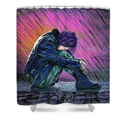 Tears In The Rain Shower Curtain