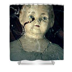 Tears Of Blood Shower Curtain by Joana Kruse