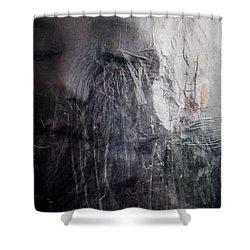 Tears Of Ice Shower Curtain by Gun Legler