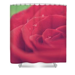 Tears Of Love Shower Curtain