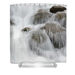 Tears Of The Mountain Shower Curtain