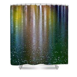 Shower Curtain featuring the photograph Tears On A Rainbow by John Haldane