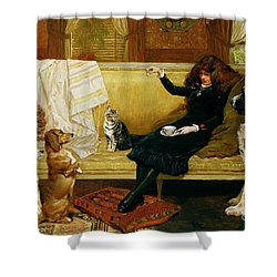 Teatime Treat Shower Curtain by John Charlton