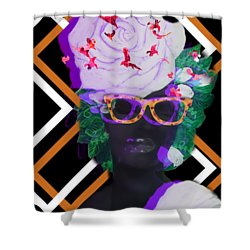 Techno Mieya Shower Curtain