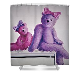Teddy's Day Shower Curtain