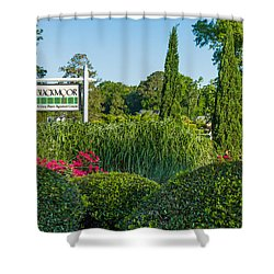 Tee Off Shower Curtain