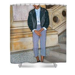 Teenage Boy Fashion 1504267 Shower Curtain