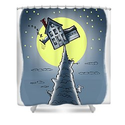 Teeter House Shower Curtain