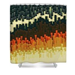 Teeth 030517 Shower Curtain by Matt Lindley