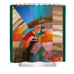 Telecast Shower Curtain