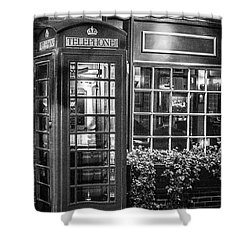 Telephone Booth Shower Curtain