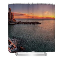 Tellaro Shower Curtain