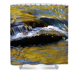 Shower Curtain featuring the photograph Tellico River - D010004 by Daniel Dempster