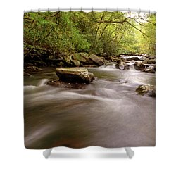 Tellico Waters Shower Curtain