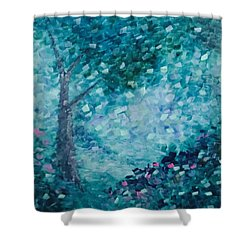 Tealing Life Shower Curtain