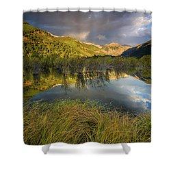 Telluride Valley Floor Shower Curtain