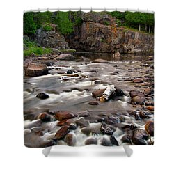 Temperance River Shower Curtain