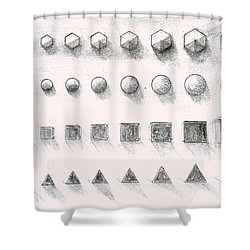 Template Shower Curtain