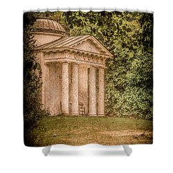 Kew Gardens, England - Temple Of Bellona Shower Curtain