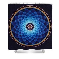 Temple Of Healing Shower Curtain