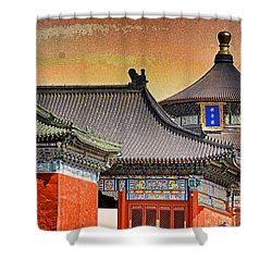 Temple Of Heaven Shower Curtain by Dennis Cox ChinaStock