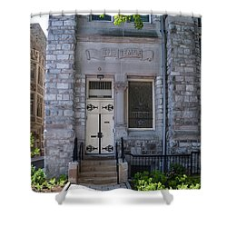 Temple University - The Temple Shower Curtain by Bill Cannon