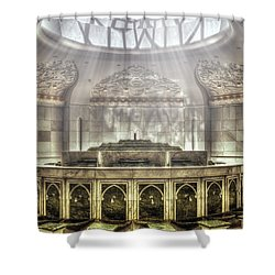 Temple Washroom Shower Curtain