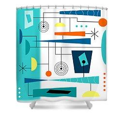 Tempo Shower Curtain by Tara Hutton