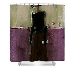 Temporary Wall Flower Shower Curtain