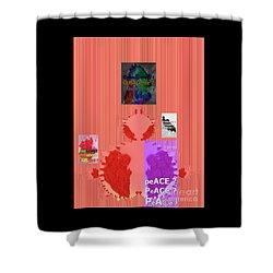 Shower Curtain featuring the digital art Temptation by Digital Feng Shui