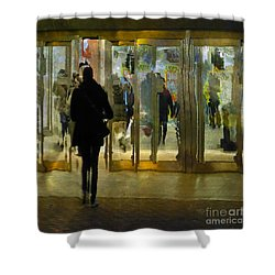 Shower Curtain featuring the photograph Temptation by LemonArt Photography