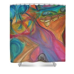 Temptation Shower Curtain