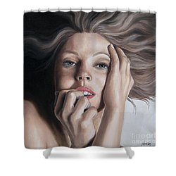 Tempting Shower Curtain by Jindra Noewi