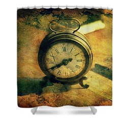 Tempus Fugit... Shower Curtain