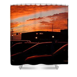 Ten Fourteen P.m. Shower Curtain