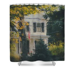 Ten Lincoln Street, Easton, Ma Shower Curtain