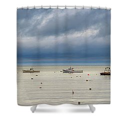 Shower Curtain featuring the photograph Tenants Harbor by Rick Berk