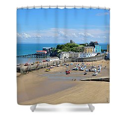 Tenby 1 Shower Curtain