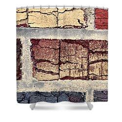 Tender Bricks Shower Curtain