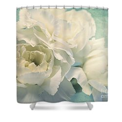 Tenderly Shower Curtain by Priska Wettstein
