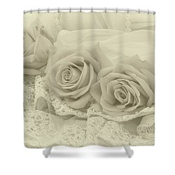 Tenderness Shower Curtain by Sandra Foster