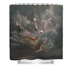 Tenebrious Shower Curtain