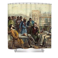 Tenn: Freedmens Bureau Shower Curtain by Granger