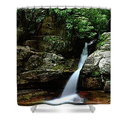 Tennessee's Blue Hole Falls Shower Curtain