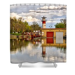 Tenney Lock - Madison - Wisconsin Shower Curtain