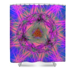 Tenographs Shower Curtain