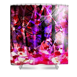 Tentative Hope Shower Curtain