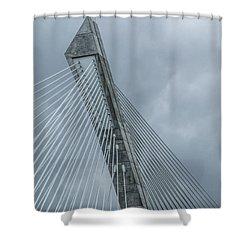 Terenez Bridge IIi Shower Curtain