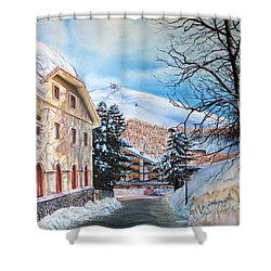 Terminillo Shower Curtain
