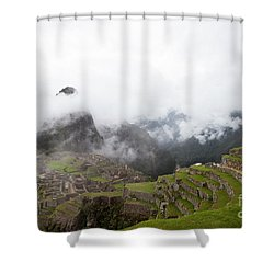 Terraces And Ruins Shower Curtain